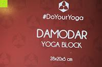 Name: Yogablock »Damodar« - flach- erhältlich in den Trendfarben: Erdbraun Moosgrün Bordeaux Currygelb Lila - der ideale Yogaklotz aus gehärteten Schaumstoff (Hartschaum)- REACH geprüft (keine Schadstoffe) der Yoga Brick ist ein praktisches Hilfsmittel (Yogazubehör) für eine Vielzahl an Yogaübungen / Asanas : Gesamtgewicht liegt bei ca.180g (schön leicht) / Größe 28cm x 20cm x 5cm