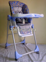 2 High Chair BabyDoes CH10 dengan Multi-position Recliner