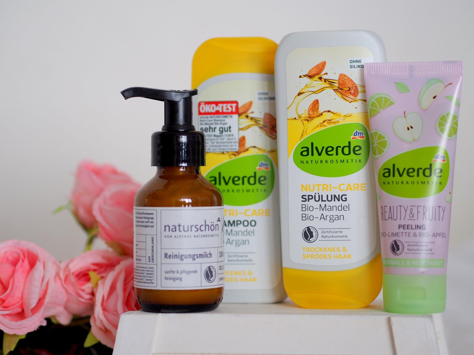 beauty tip: alverde naturkosmetik // naturschön, beauty&fruity, nutri-care