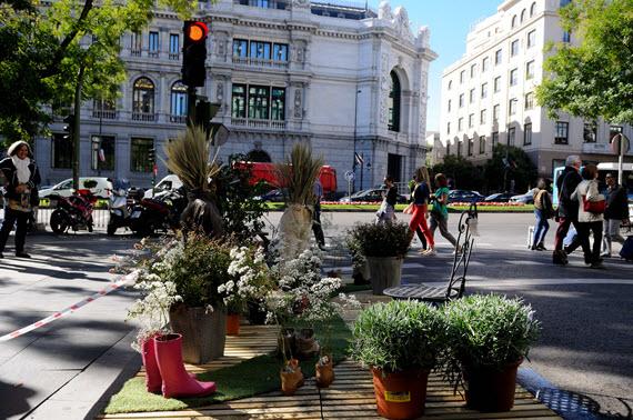 Parking Day 2016 en Madrid: reivindicando para las personas los espacios destinados al automóvil