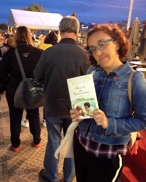 Feira do Livro de Lisboa amei-te em copacabana hora h fila
