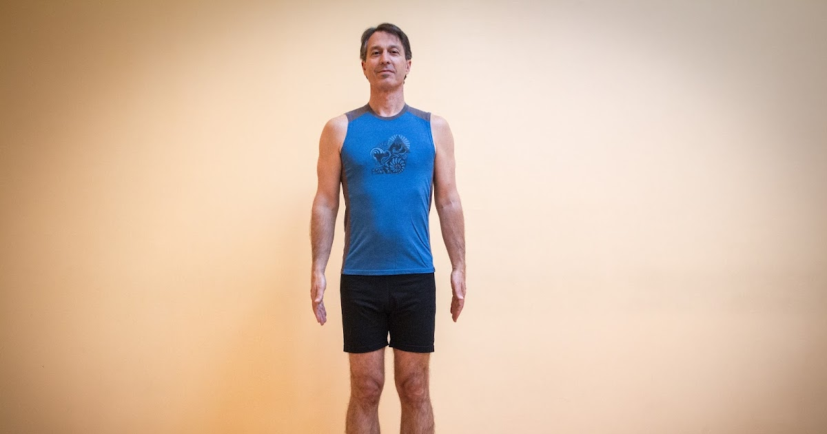 yoga for healthy aging featured pose mountain pose