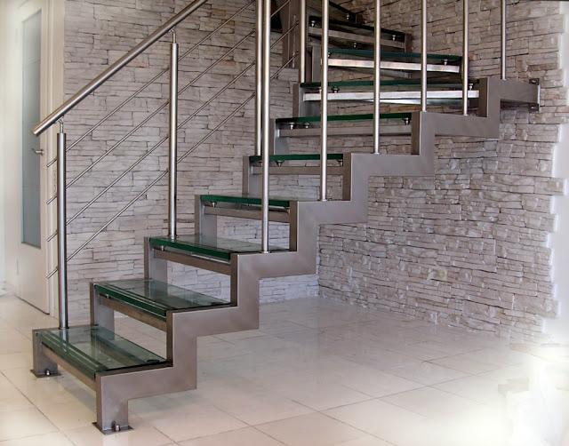 thiết kế cầu thang inox cùng skyhome