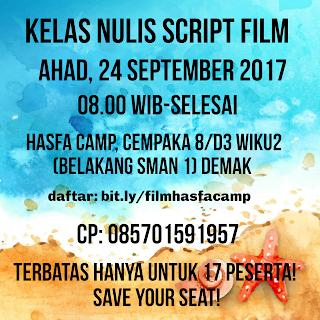 Kelas Nulis Script Film Di Hasfa Camp
