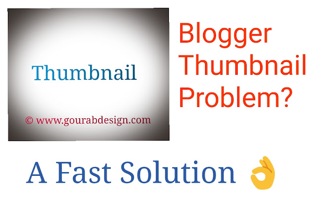 blogger thumbnail problem solution