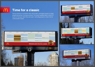 McDonald's Time For A Classic Billboard
