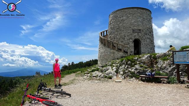 Mountainbiken Opatija - Učka mtb