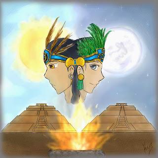 leyenda corta del sol y la luna