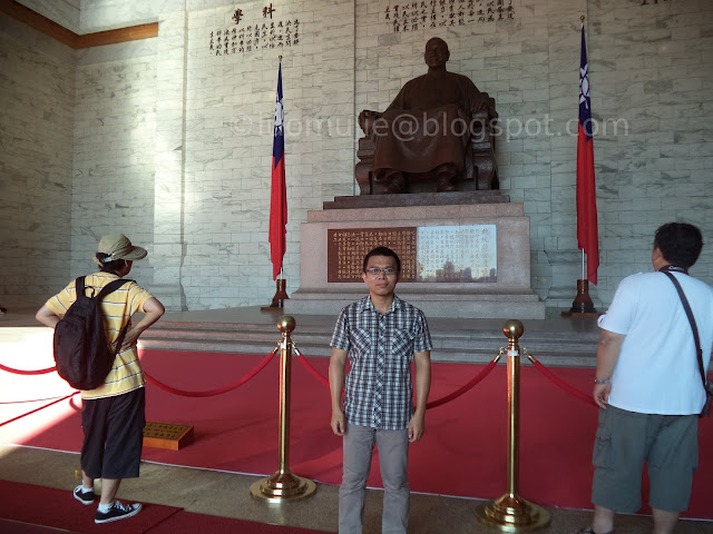 Sun Yat-sen Memorial Hall and Chiang Kai-shek Memorial Hall