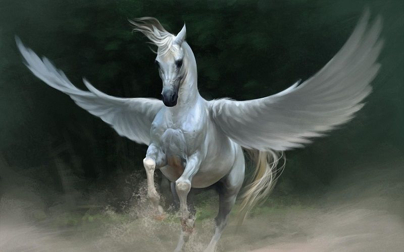 Pégaso, o Cavalo Alado na Mitologia Grega