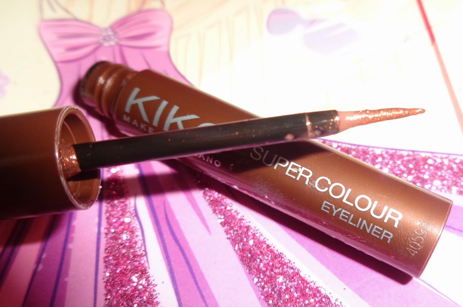 KIKO super color eyeliner 102 bronze
