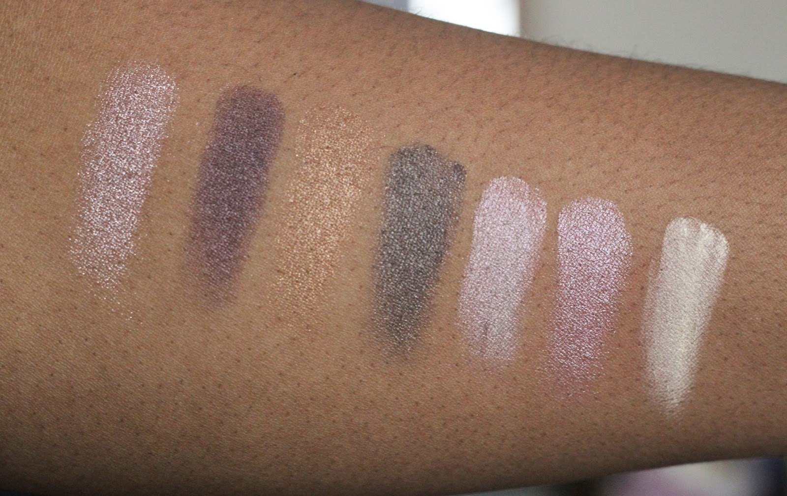 anastasia beverly hills self-made palette dark skin swatches