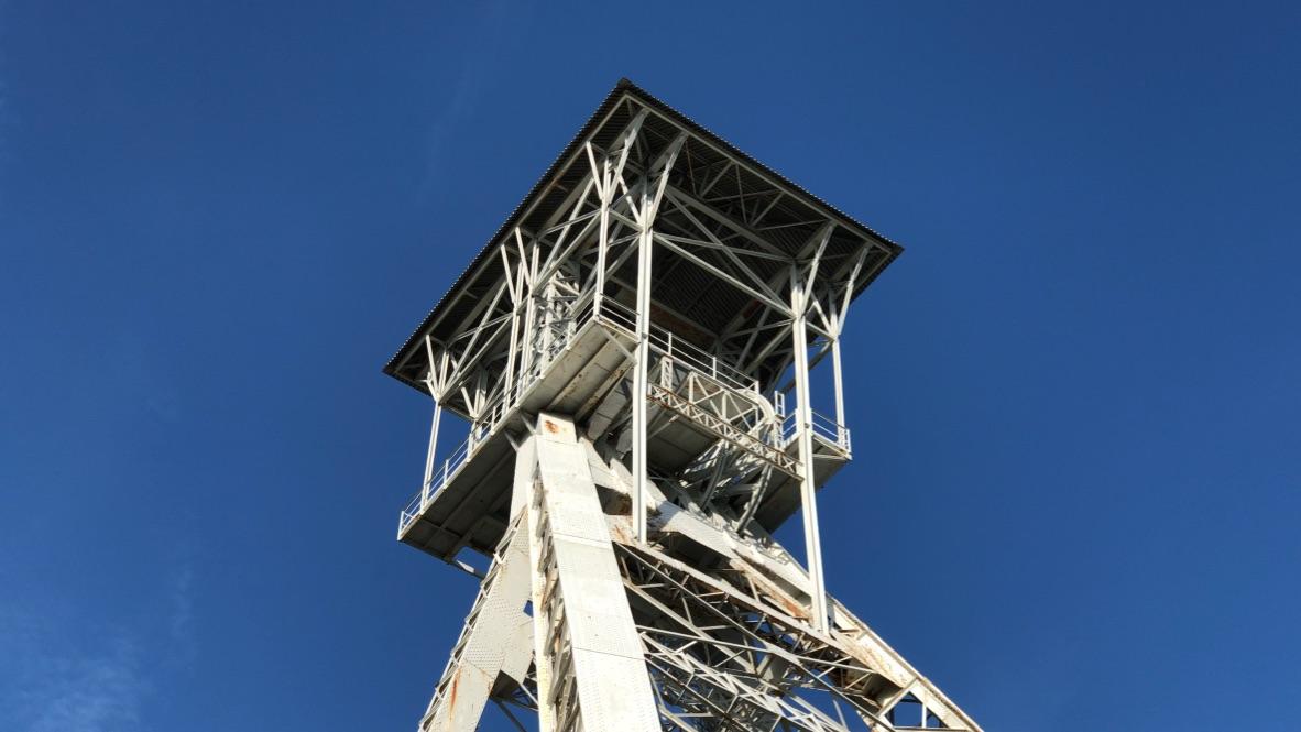 genk belgium blue sky