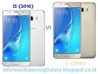 Perbandingan Samsung Galaxy J5 (2016) vs J7 (2016)