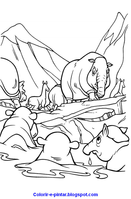 ice age scrat coloring pages scrat hunting acorn coloring page
