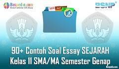 Lengkap - 85+ Contoh Soal Essay PKN Kelas 11 SMA/MA Semester Genap Terbaru