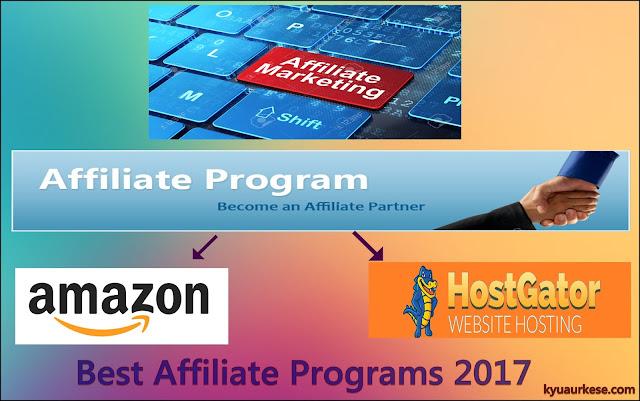 Affiliate marketing ke liye best programs