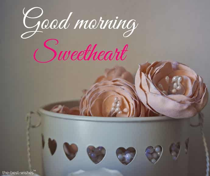 good morning sweetheart wallpaper picture