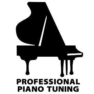 professional piano tuning black grand piano