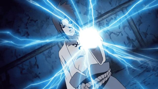 Sasuke mampu mengembangkan Chidori menjadi jutsu yang begitu kuat