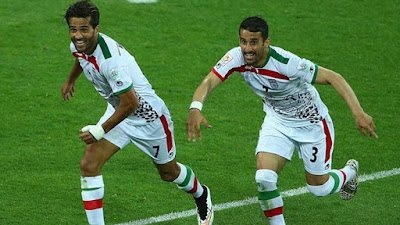 Intolerância do Irã  até no futebol