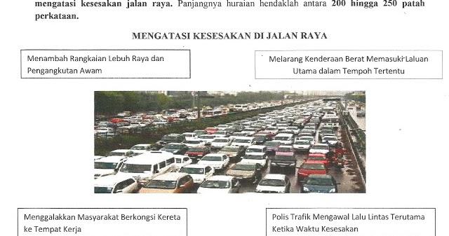 Cara Cara Untuk Mengurangkan Kesesakan Jalan Raya