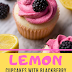 Lemon Cupcakes with Blackberry Buttercream Yummy