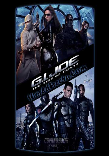 Poster Of G.I. Joe: The Rise of Cobra (2009) Full Movie Hindi Dubbed Free Download Watch Online At worldofree.co