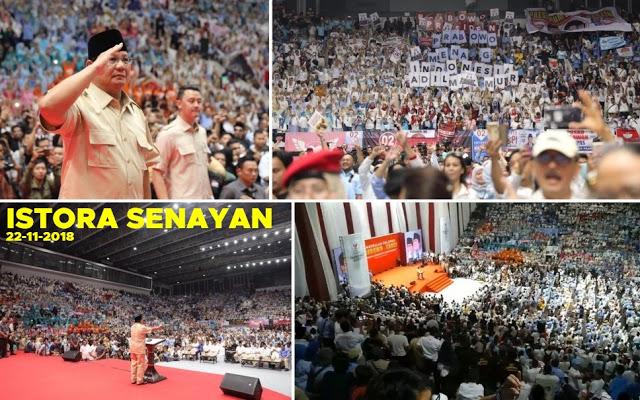 Prabowo: Kami Sudah Mewakafkan Diri Kami Bagi Bangsa dan Rakyat Indonesia