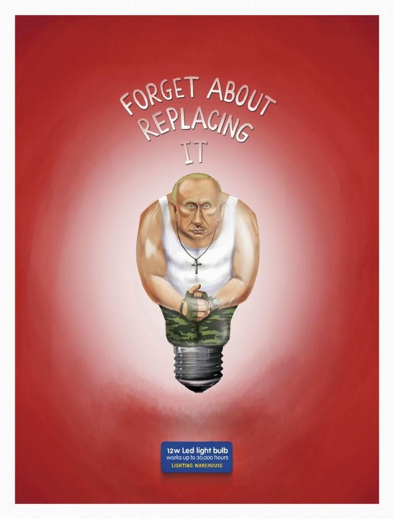 Vladimir Putin de Rusia.