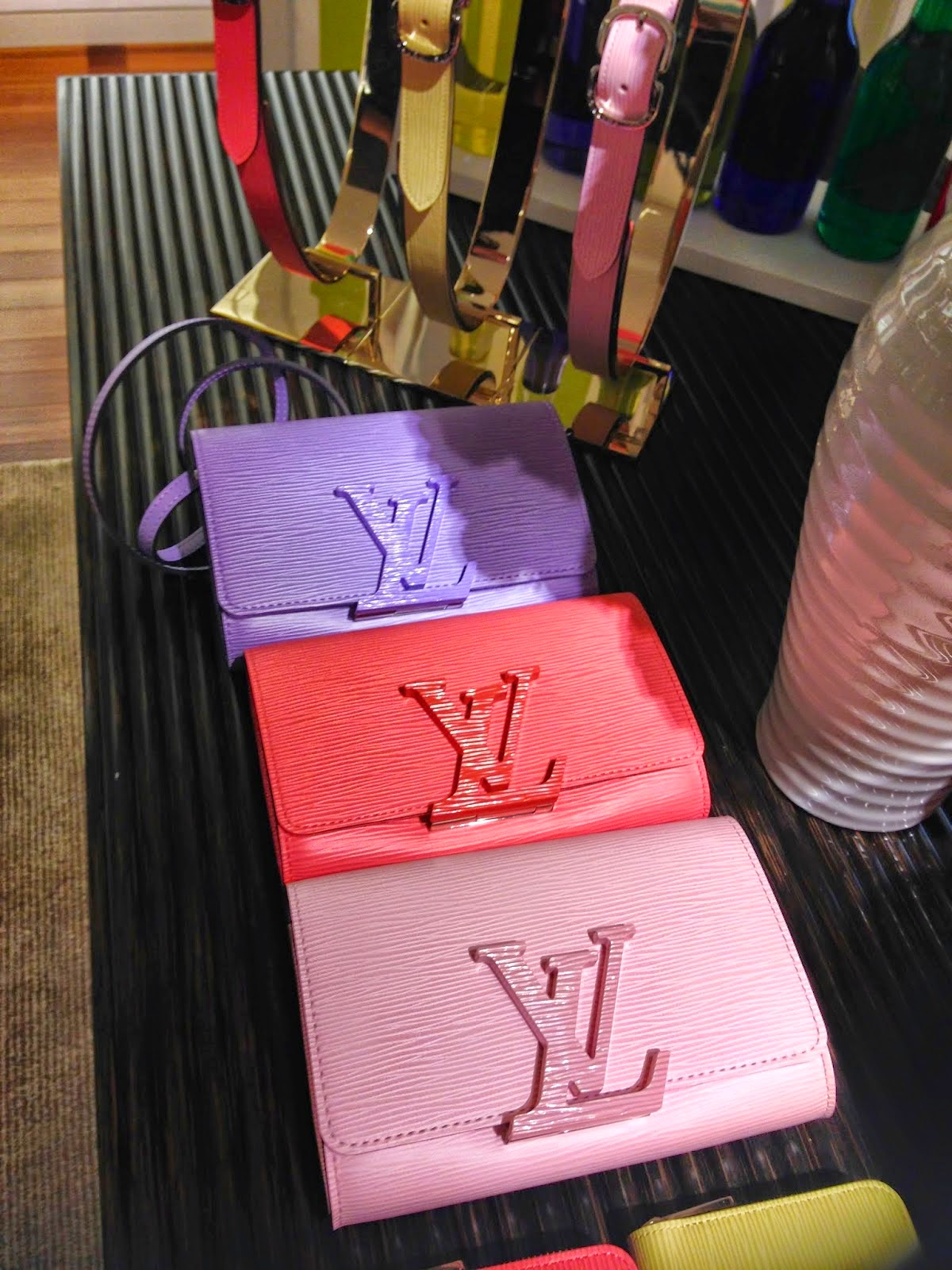 Louis Vuitton's New Pastel Epi Louise Clutches For Summer