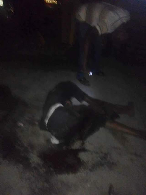 FB IMG 1518682507970 - Black Valentine: Truck crushes two persons to death in Akwa Ibom