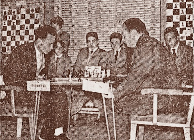 I Torneo Internacional de Terrassa 1960, partida O'Kelly-Ridameya