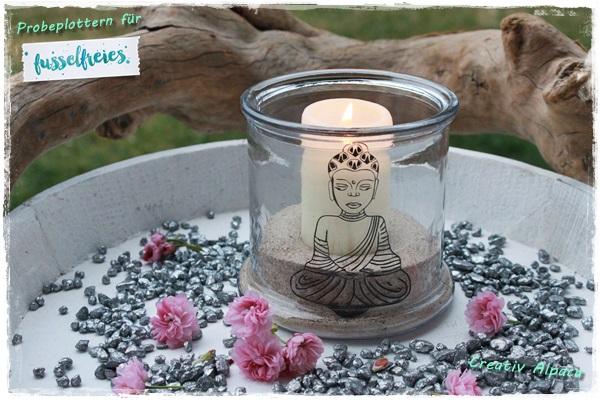 Fusselfreies Buddha Probeplotten