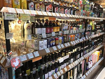 リカーズハセガワのクラフトビール棚