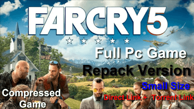 Free Download Game Far Cry 5 Pc Full Version – Last Update 2018 – Repack Version – Incl All DLCs – Highly Compressed  – Small Size – Compressed Game –  Direct Link – Torrent Link – Multi Links – 15 GB – Install+Tutorial – Working 100%