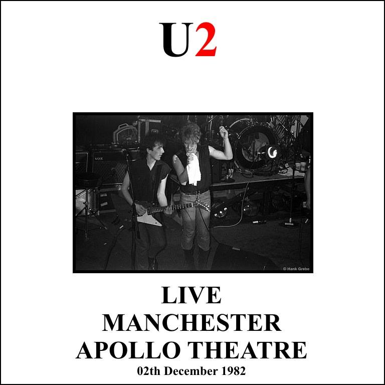 T U B E : U2 - 1982-12-02 - Manchester, UK (SBD/FLAC)