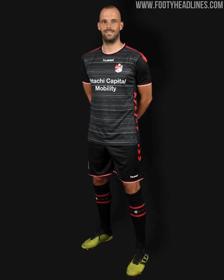 Fc Emmen 19 20 Home And Away Kits Released Footy Headlines
