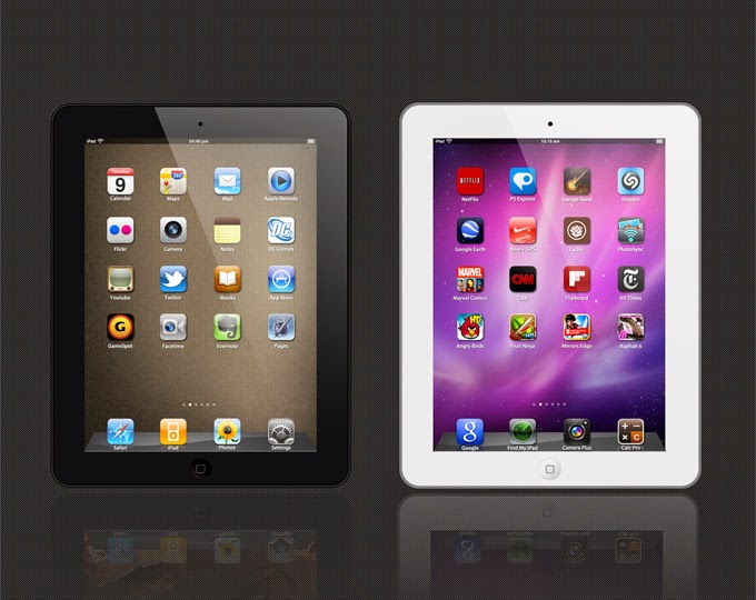 iPad 2 Template PSD