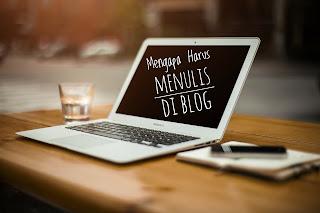 Temukan alasannya mengapa harus menulis di blog