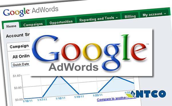 chay quang cao google