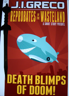 Portada del libro Death Blimps of Doom!, de J. I. Greco