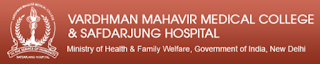 VMMC/ Safdarjung Hospital Notification 2017 & Previous Question Papers