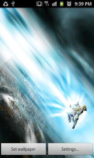 COPIA DE SEGURIDAD: Live Wallpaper Gohan & Goku Vs Cell Kamehameha 1.0 .apk