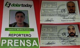Los periodistas Jesús Medina, Filippo Rossi y Roberto Di Matteo quedaron hoy en libertad, luego que la juez del tribunal 5to de control del estado Aragua.