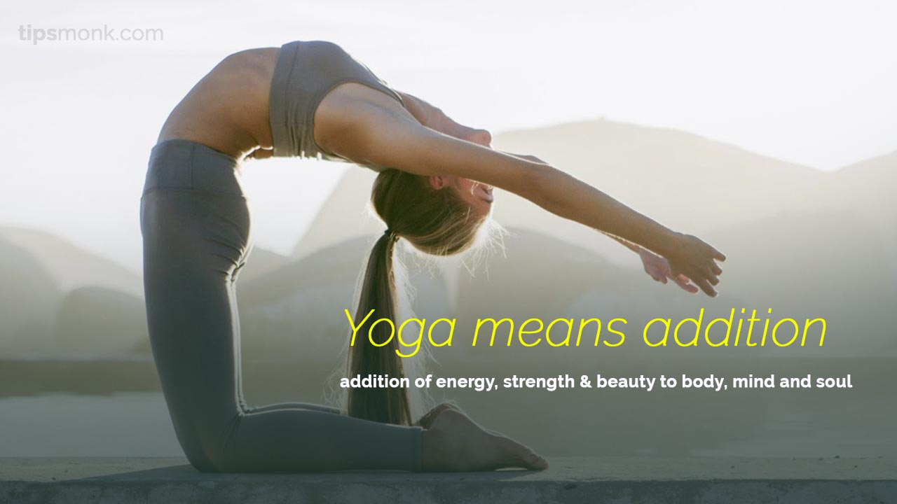 Inspirational Yoga quotes with women doing poses images - Tipsmonk