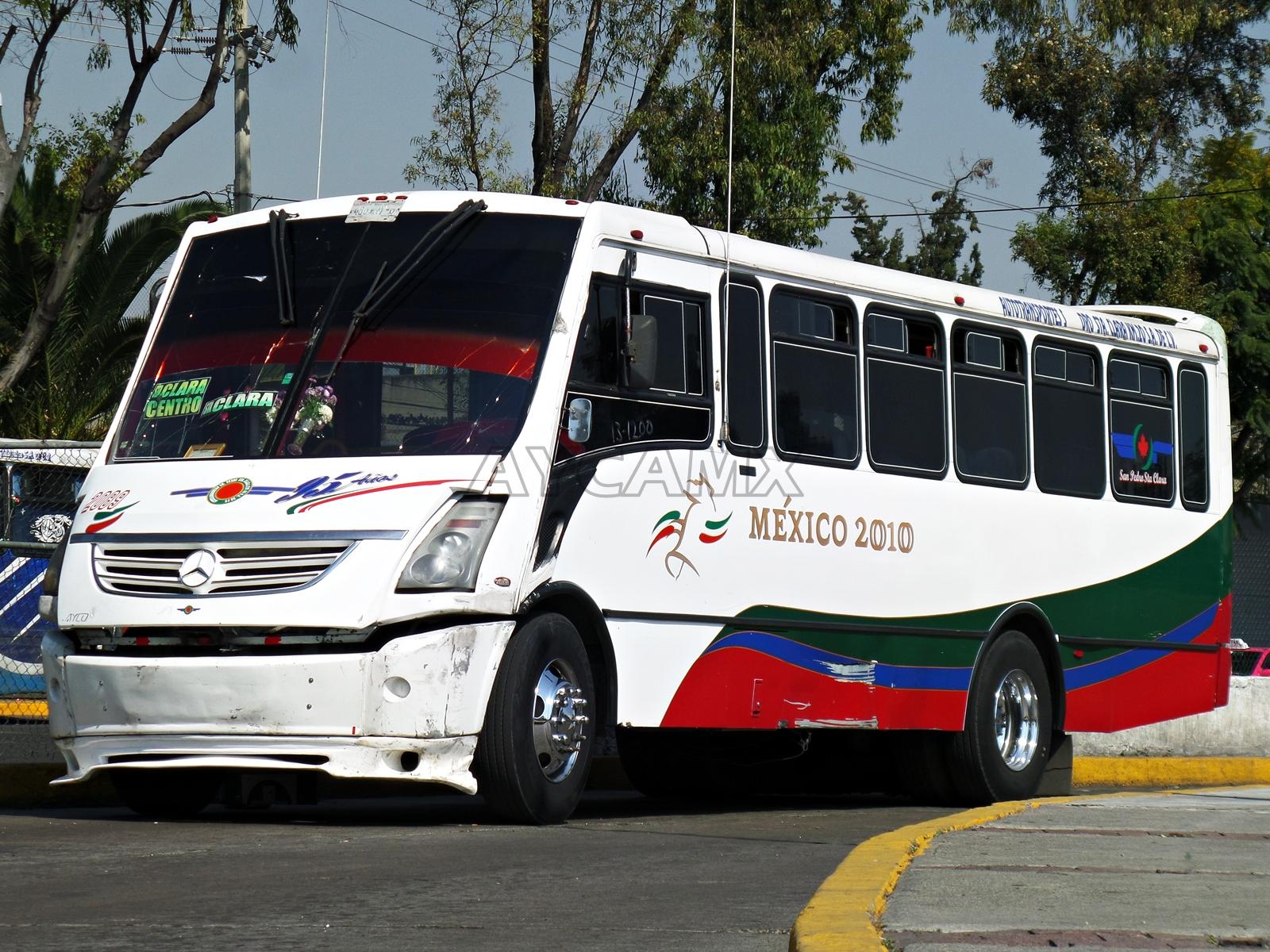 Aycamx autobuses y camiones m xico camiones estado de for Mercedes benz san pedro