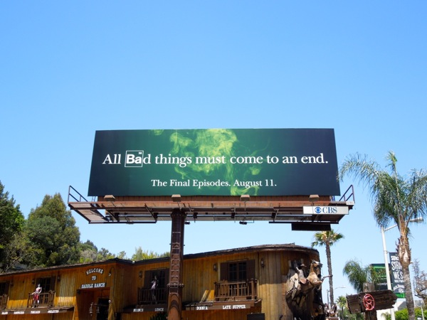 Breaking Bad season 6 billboard