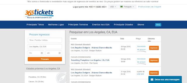 Ingressos para jogos de tênis e tênis de mesa em Los Angeles