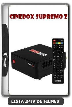 Cinebox Supremo Z Nova Atualização com ajuste no sks - 14/12/2019